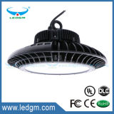 Промышленный светильник IP65 освещения UFO Highbay делает свет водостотьким залива 130lm/W 200W 150W 100W СИД высокий