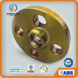 O interruptor do aço de carbono A105 da qualidade superior forjou a flange com revestimento amarelo (KT0226)