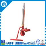 Aluminiumlegierung-manueller Feuerbekämpfung-Wasser-Monitor