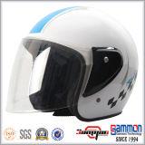 安く純粋で黒いスクーターのヘルメット(OP213)