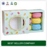 Boîte-cadeau transparente faite sur commande de sucrerie de métier de grand dos de bande avec le couvercle