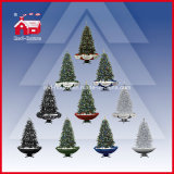 Bello Green Christmas Tree con Ornaments variopinto Umbrella Skirt