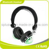 Écouteurs sans fil de Bluetooth d'éclairage LED coloré du DJ Shinning les écouteurs instantanés