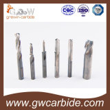 Molino de extremo del carburo de tungsteno de la fabricación