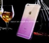 Nieuwe Zachte Transparante Geval TPU Cellphone/Dekking voor iPhone6