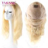 Peluca llena 100% del cordón del pelo brasileño de la Virgen de la onda de la carrocería