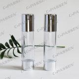 50g como o frasco cosmético mal ventilado transparente plástico com bomba da loção (PPC-NEW-024)