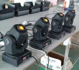 Beweglicher Hauptpunkt-preiswertes Licht der hohen Helligkeits-10W für DJ