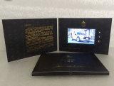 La mayoría de la tarjeta de visita video de la pantalla popular del LCD