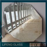 зеркало двойного Coated зеркала 2-6mm стеклянное алюминиевое серебряное с высоким качеством