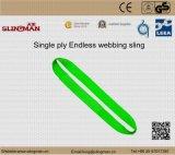 ASME B30.9 мы 4 подъемного стропа Webbing Ply (TS-W09-08)