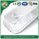 مستهلكة [ألومينيوم فويل] وعاء صندوق لأنّ قالب تحميص