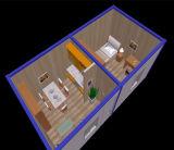Projeto da casa do recipiente de Pth para caixa viva da HOME/sentinela/toalete residencial/público