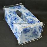 Caixa acrílica de venda superior do tecido do retângulo feito sob encomenda (HY-YXH163)