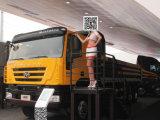 라오스를 위한 Iveco Hy 8X4 새로운 Kingkan 팁 주는 사람 또는 덤프 트럭