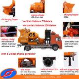C5 15-25 M3/H Diesel Concrete Mixer Pump con Truck per Construction