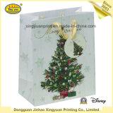 Zoll gedruckter Weihnachtspapier-Geschenk-Träger-Beutel