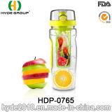 изготовленный на заказ бутылка воды вливания плодоовощ Tritan логоса 32oz, BPA освобождает пластичную бутылку Infuser плодоовощ (HDP-0765)