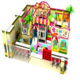 Equipo colorido del juego de niños del dulce y del caramelo de interior/equipo del parque del patio
