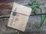 la taille 64k gravent le cahier en refief de Moleskine de couverture pour la vente en gros (XL-64K-SYB-01)