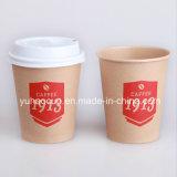 Qualtiy superiore Kraft Paper Cup con Lid