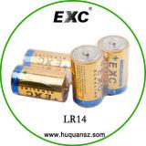 Батарея c размера батареи Lr14 1.5V сухая для электронного вспомогательного оборудования