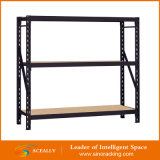 Household Shelf를 위한 Wood Board를 가진 리베트 Shelving Racks