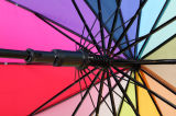 虹デザイン多彩でまっすぐな傘