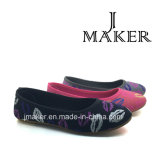De hete Verkopende Schoenen van Nice Dame Flat Shoes Injection Shoes jm2023-L