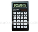 10のディジットAluminiumおよびABS Dual Power Handheld Calculator (LC528)