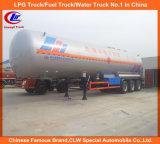 Op zwaar werk berekende 3 Axle 10t 15t 20t 25t LPG Tanker Trailer voor Sale