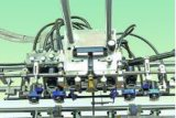 フルートの薄板になる機械への高速フルオートマチックの挿入のボード
