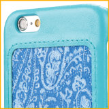 PU Leather Custom Printed Mobile Phone Caso para Each Modles