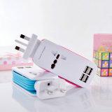 工場価格の自在継手4 USBポート旅行充満プラグ