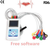Monitor 24 Hora-Stella do LCD Holter da cor de Cardioscape12-Channel