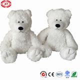 Brinquedo encantador enchido macio branco do urso polar da peluche de Addorable dos miúdos