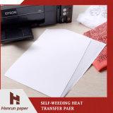 Бумага Inkjet передачи тепла Weeding собственной личности размера A3/A4 для печатание давления жары