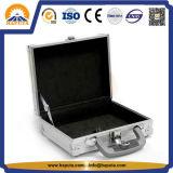 Eenvoudige LichtgewichtToolbox van het Aluminium met het Af:drukken van het Embleem