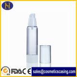 15ml 50mlのプラスチック透過空気のない香水の液体びん