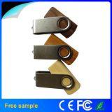 2015 SpitzenSelling Swivel Wooden USB Flash Drive mit 8GB
