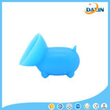 2 PCS El cerdo lindo del envío libre formó el sostenedor del teléfono celular del silicón ((color al azar)