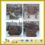 Granit-Denkmal und Finanzanzeige für amerikanischen oder europäischen Markt