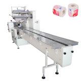 Papier hygiénique empaquetant la machine à emballer sanitaire de tissu de pain