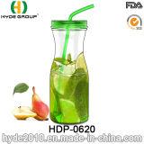 32oz普及したプラスチックBPAは放すジュースのびん、新しいジュースの水差し(HDP-0620)を