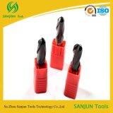 Tagliatrice speciale utilizzata solida del laminatoio di estremità del radiatore anteriore della sfera della tibia del carburo del tungsteno all'ingrosso della fabbrica
