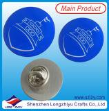 자신을%s 가진 금속 Pin 기장을 인쇄하는 다채로운 로고 디자인 접어젖힌 옷깃 Pin 기장