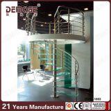 Jogos de vidro espirais Home da escada (DMS-1003)