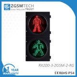Piéton LED Feux de Circulation Rouge Vert Homme Statique Dia. 200mm 8 pouces