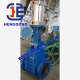 API/DIN 슬러리 주철강 압축 공기를 넣은 플랜지 Wcb 게이트 밸브