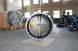 승인되는 세륨 ISO Wras를 가진 스테인리스 CF8m CF8 두 배 플랜지 나비 벨브 (CBF01-TF01)